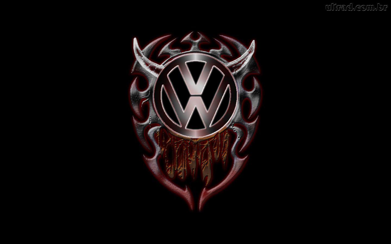 Papel de Parede Volkswagen   Tribal Logo 1440x900