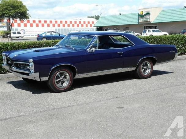 Related Pictures 1967 Vintage Pontiac Gto Muscle Car For Sale In HD 608x456