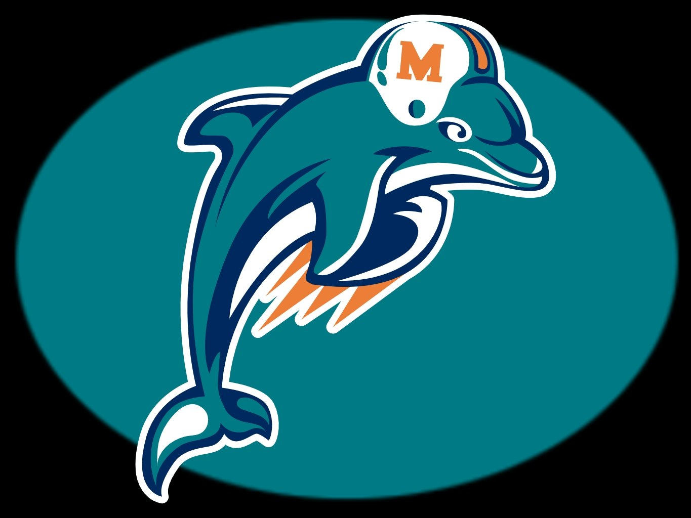 miami dolphins logo wallpaper 1365x1024