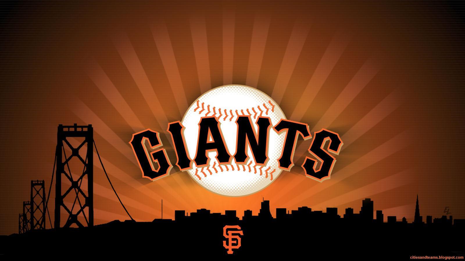 San Francisco Giants City SFG Major League Baseball California MLB 1600x900