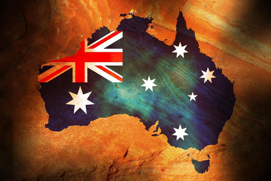 Australia flag art wallpaper Wallpapers and Backgrounds in 2019 900x600