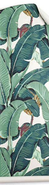 Rosa Beltran Design MARTINIQUE BANANA LEAF WALLPAPER 160x600