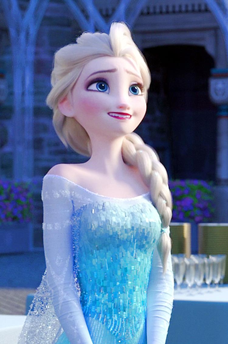 Frozen Fever Elsa Phone Wallpaper elsa and anna 38787381 750 1134jpg 750x1134