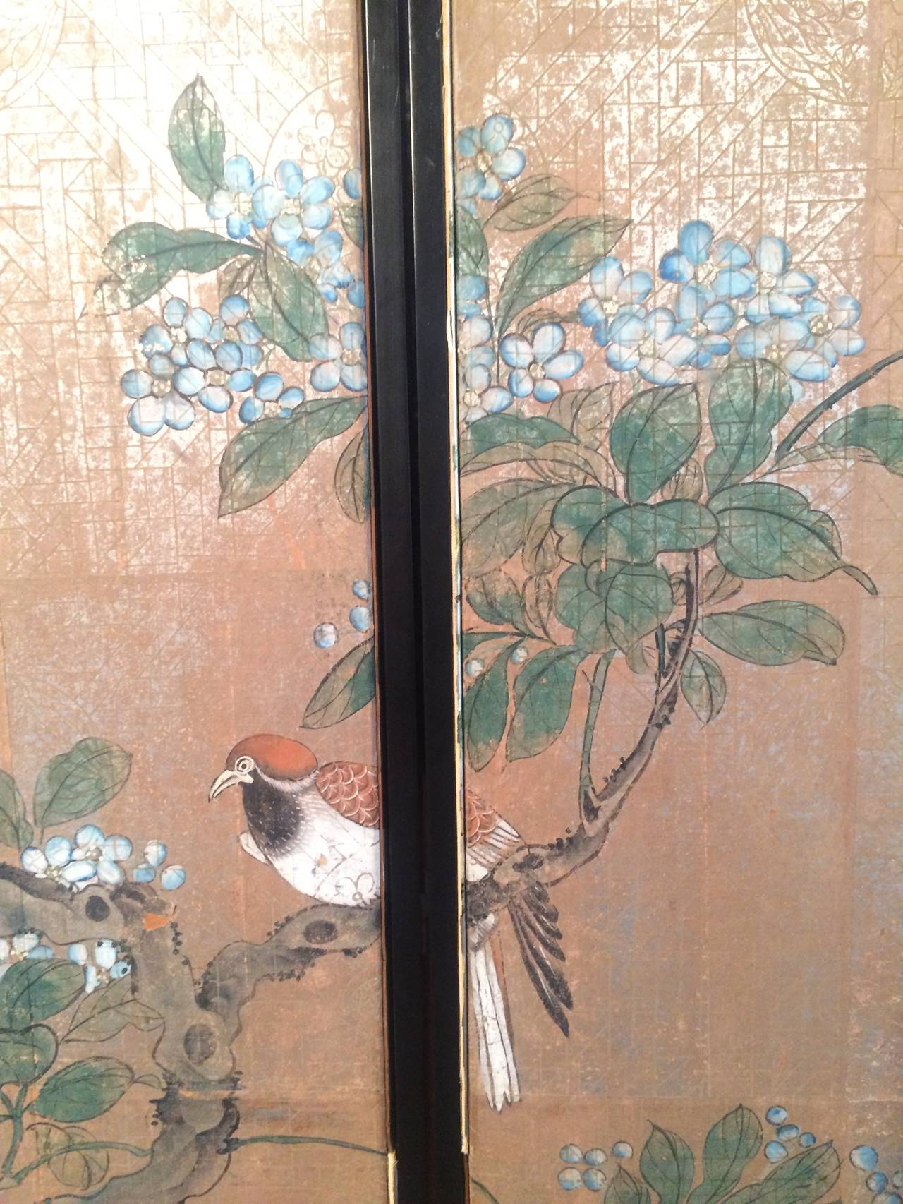 download Four Framed Vintage Gracie Chinoiserie Wallpaper 1280x1706