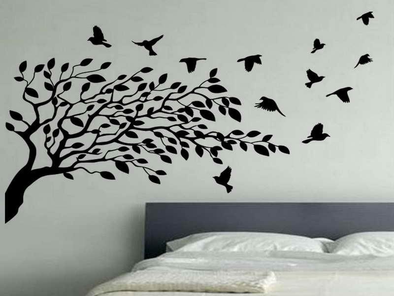 Home Walls Bird Wallpaper For Walls Decor Flying Birds Wallpaper 800x600