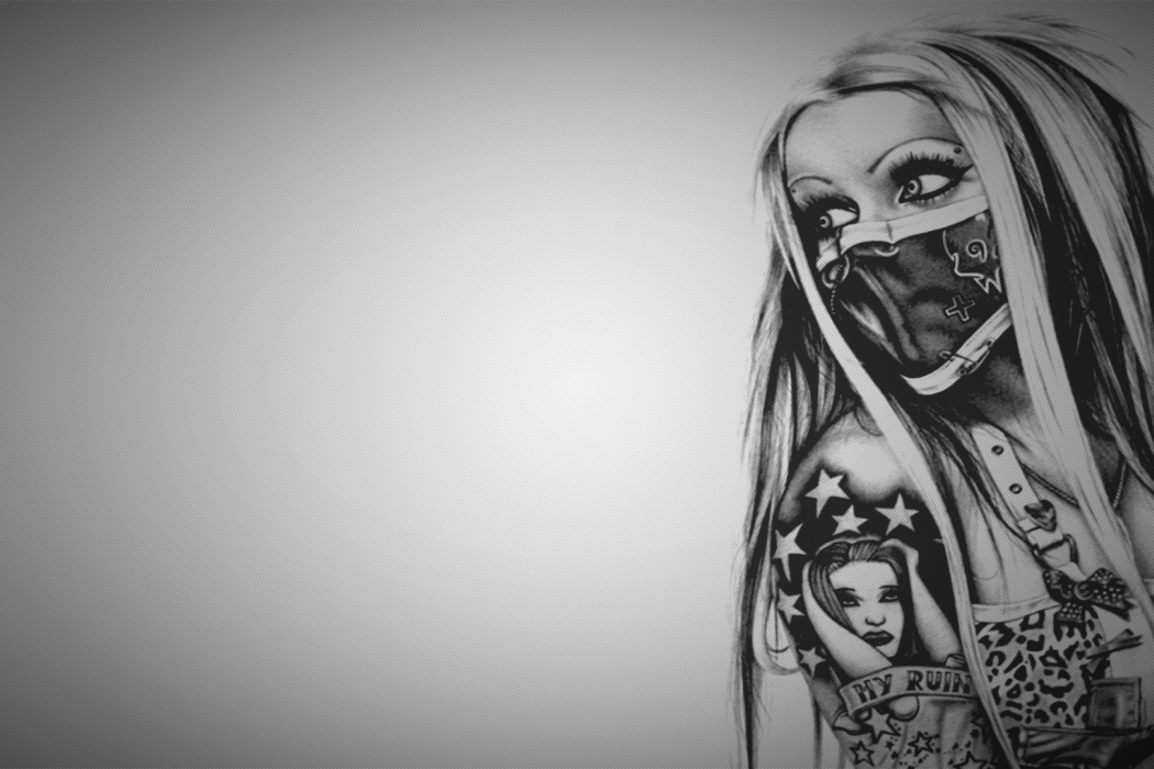 tattoo girl hd wallpaper - photo #23