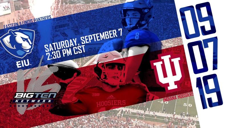 Tickets Available For EIU At Indiana Football   Eastern Illinois 1600x900