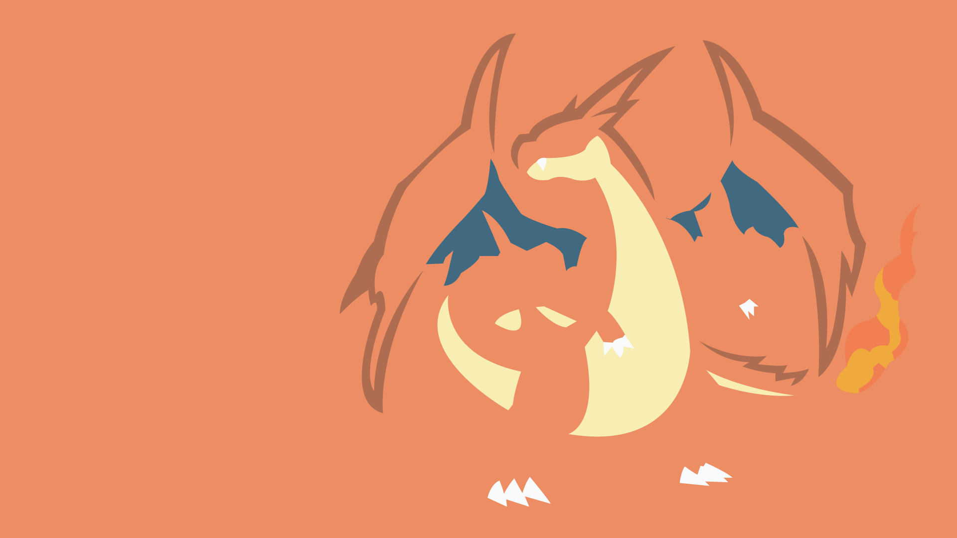 Mega Charizard Y by DashingHero 1920x1080