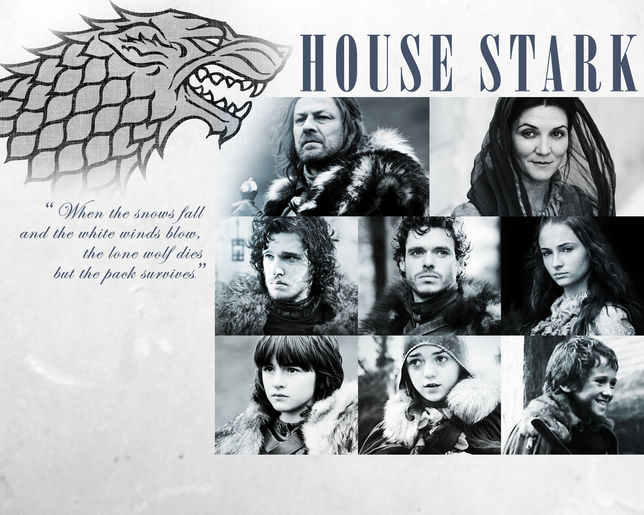 Game Of Thrones Stark Wallpaper