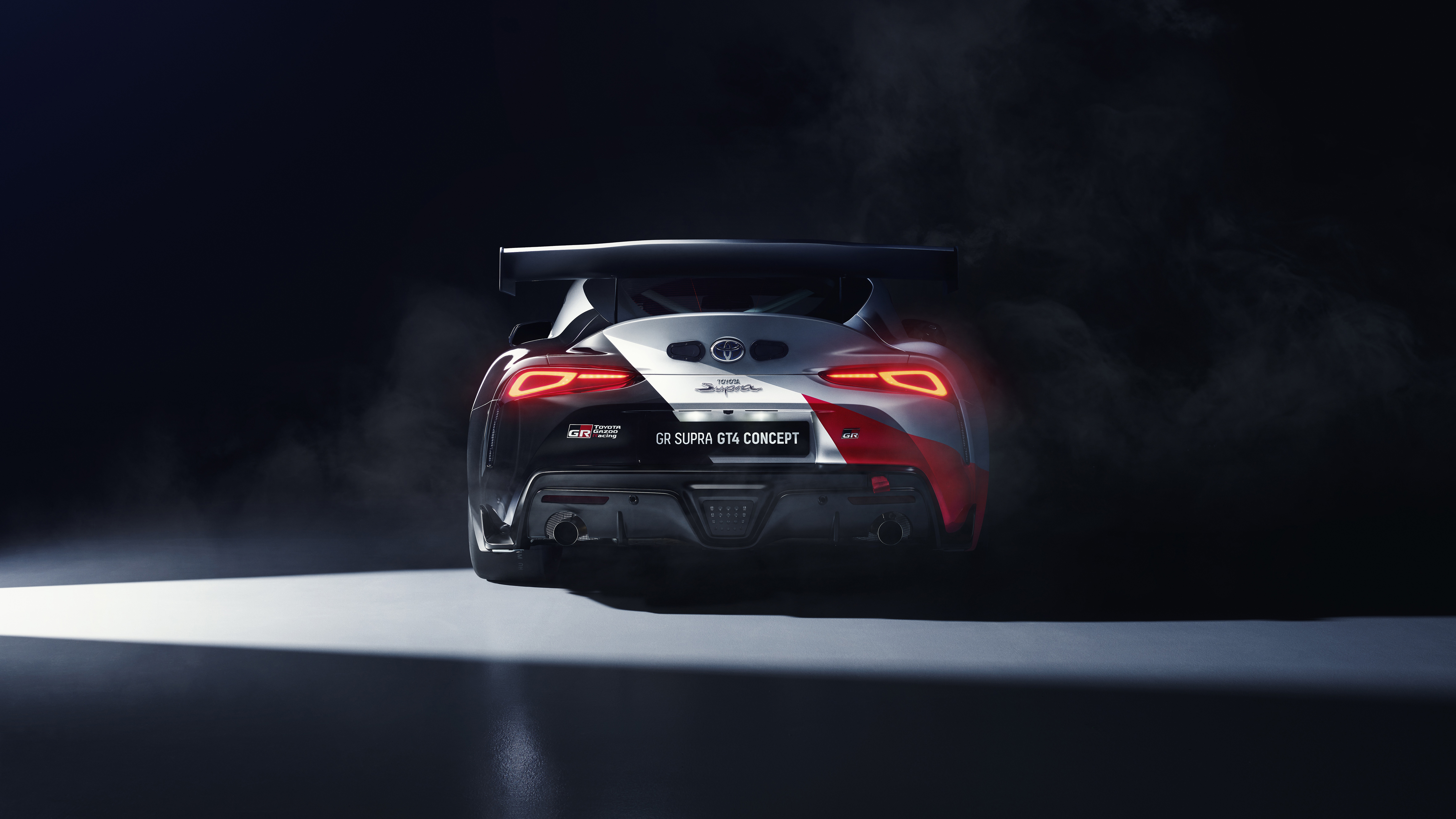 Toyota GR Supra GT4 Concept 2019 4K 5K 4 Wallpaper HD Car 5120x2880