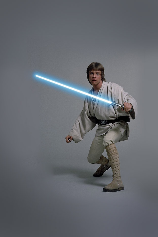 Luke Skywalker   Star Wars iPhone Wallpaper 640x960