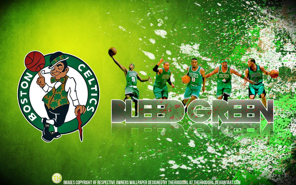 Boston Celtics Bleed Green Wallpaper HD Desktop and mobile wallpaper 1131x707