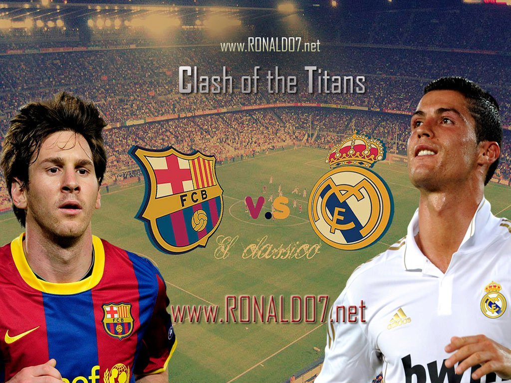 Top Football Wallpapers Messi and Ronaldo Cool Wallpapers 2012 1024x768