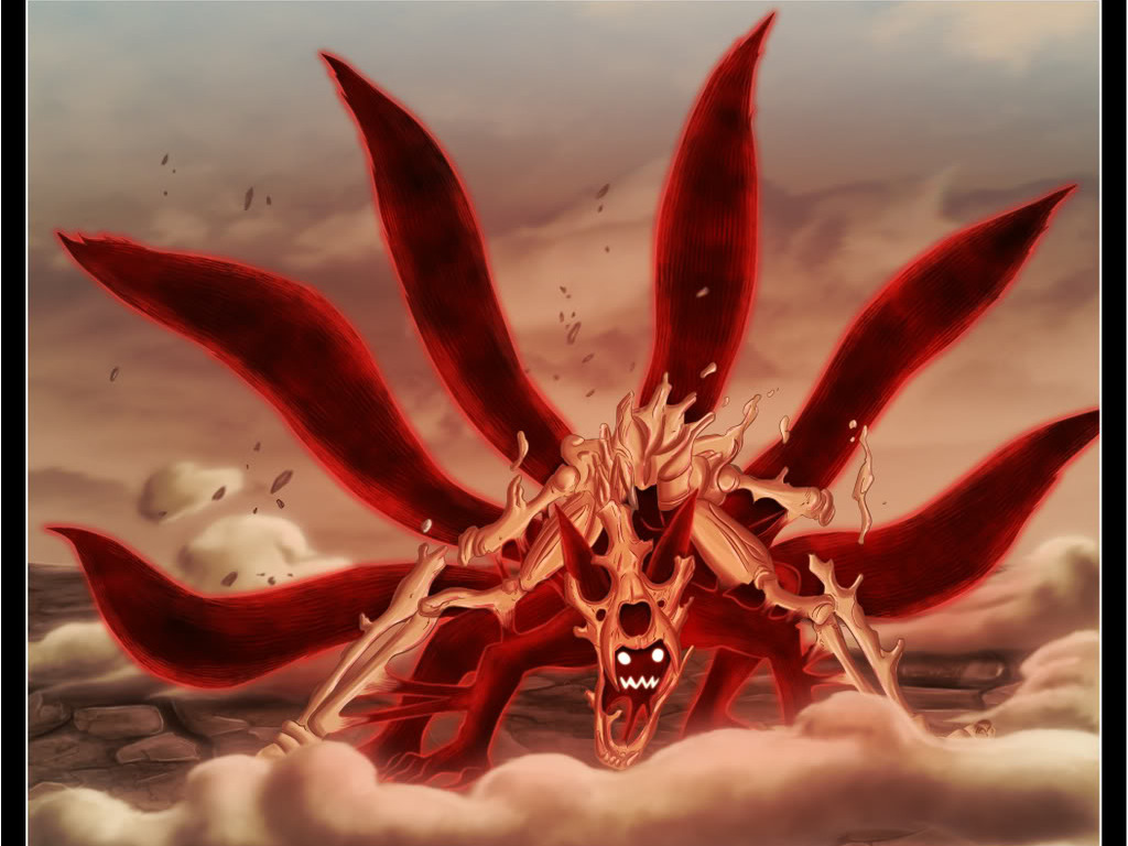 Free Download Naruto Shippuden Wallpapers Kyuubi 1024x768 For