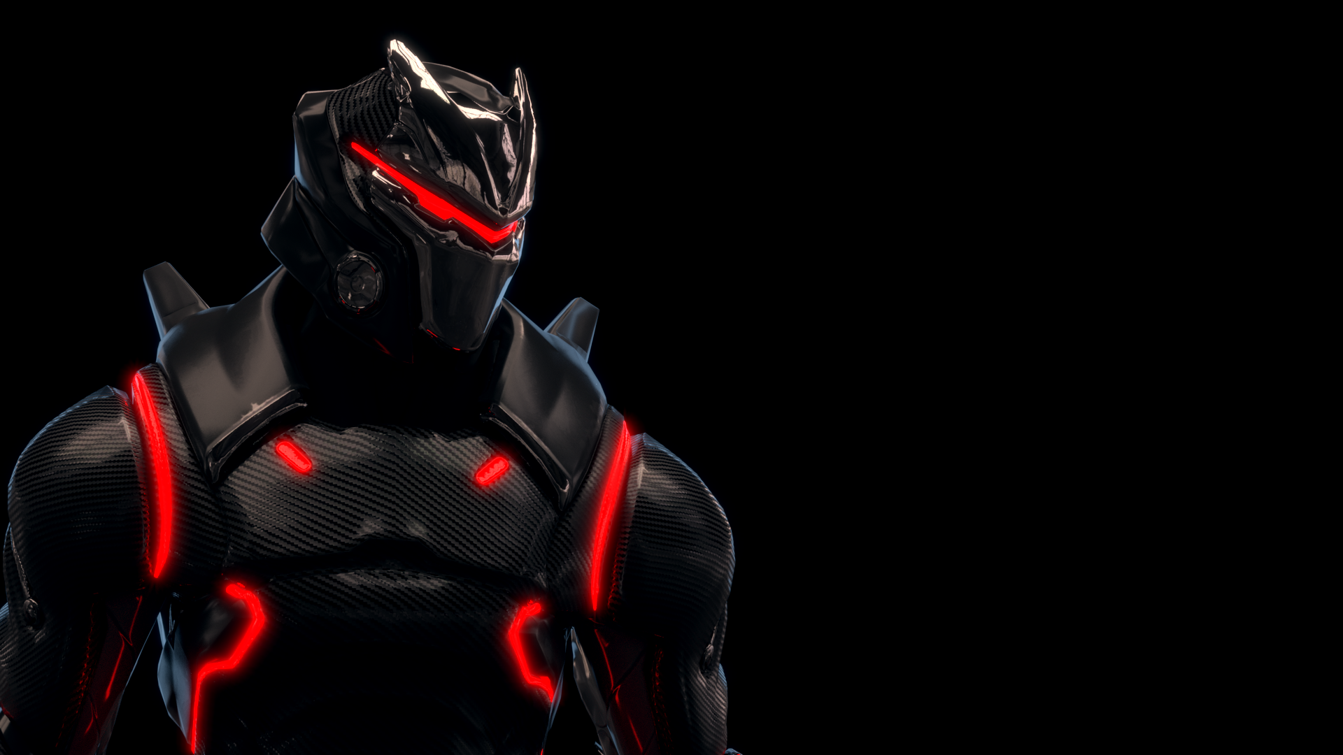 Made a wallpaper with the Omega FortNiteBR 1920x1080