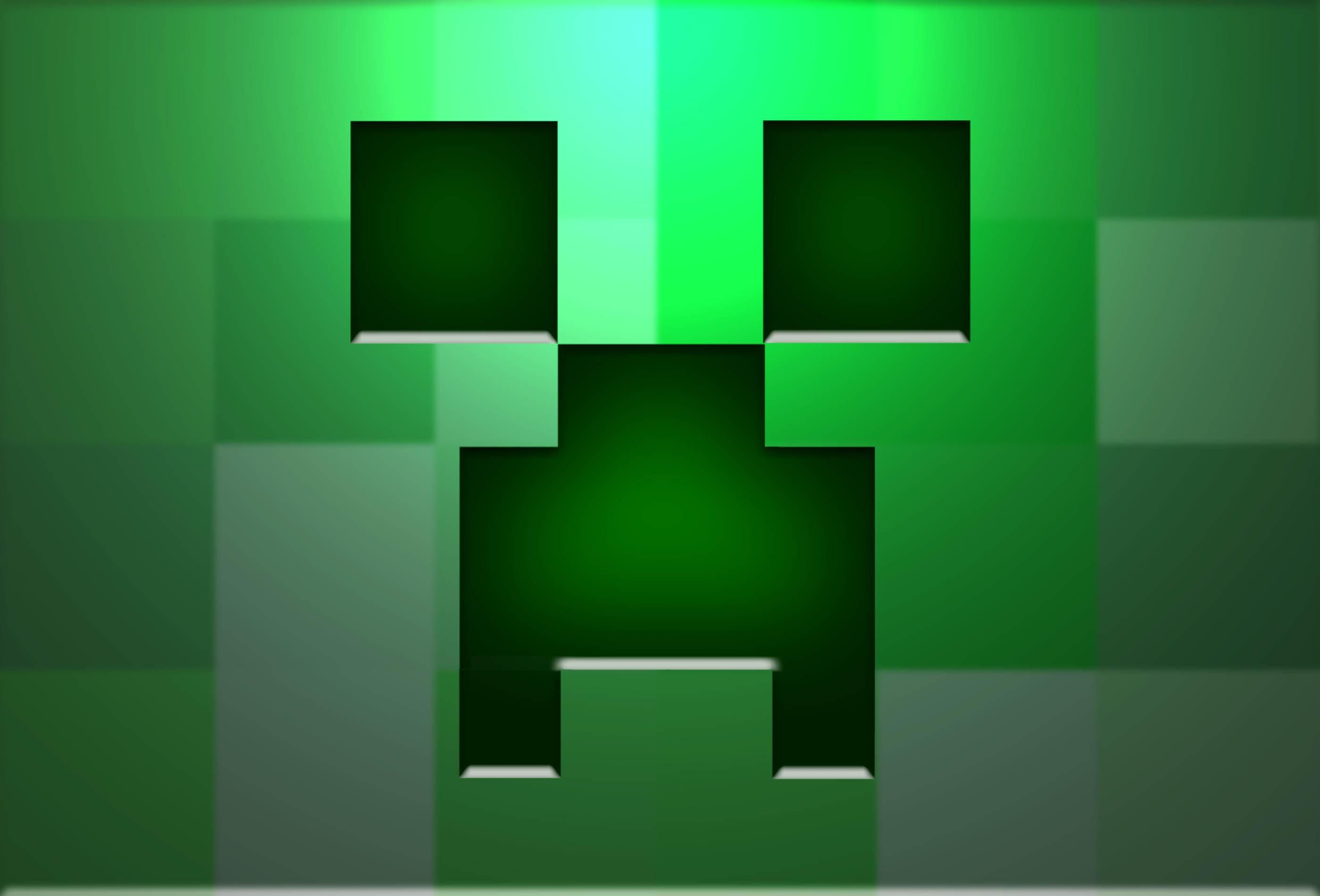 Minecraft Creeper Backgrounds  Wallpaper anime 2800x1900