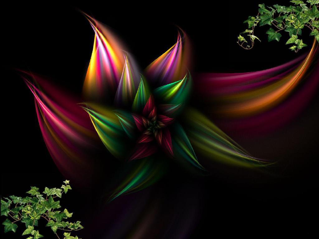 48 Abstract Flower Wallpaper On Wallpapersafari