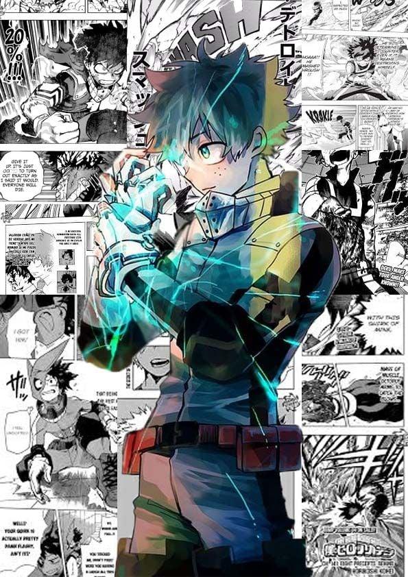 custom deku wallpaper Hero wallpaper Hero Deku boku no hero 595x842