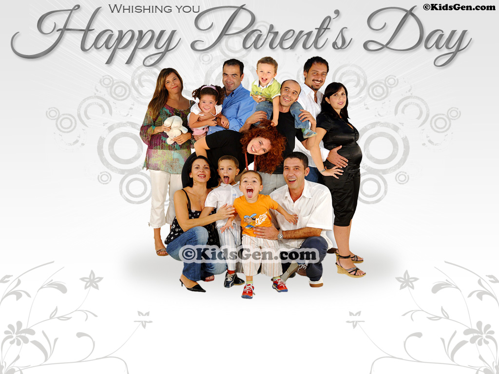 Parents Day Wallpapers 1024x768
