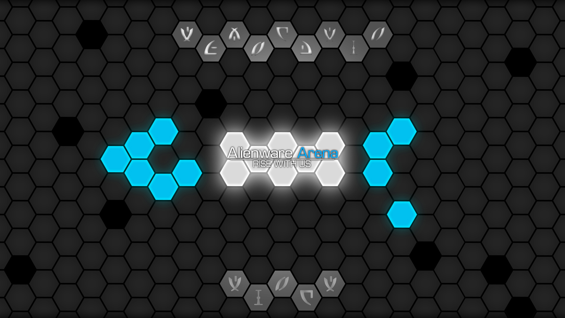 Alienware Arena Hive Wallpaper 2   Blue   1080p by TheKloakedOne 1920x1080