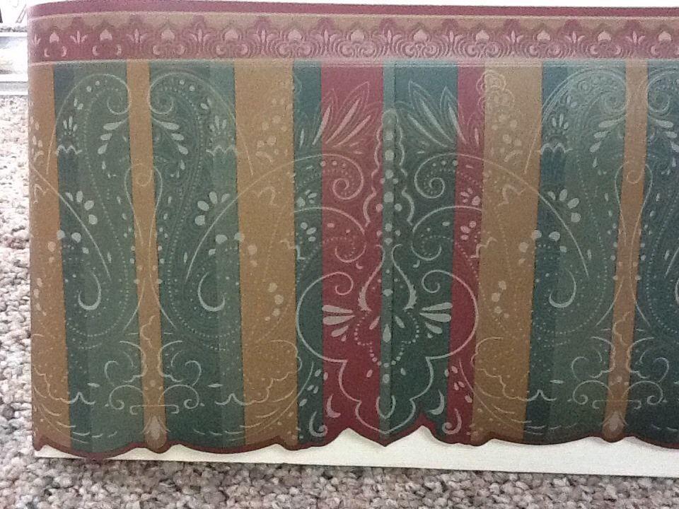 Paisley Wallpaper Border eBay 960x720