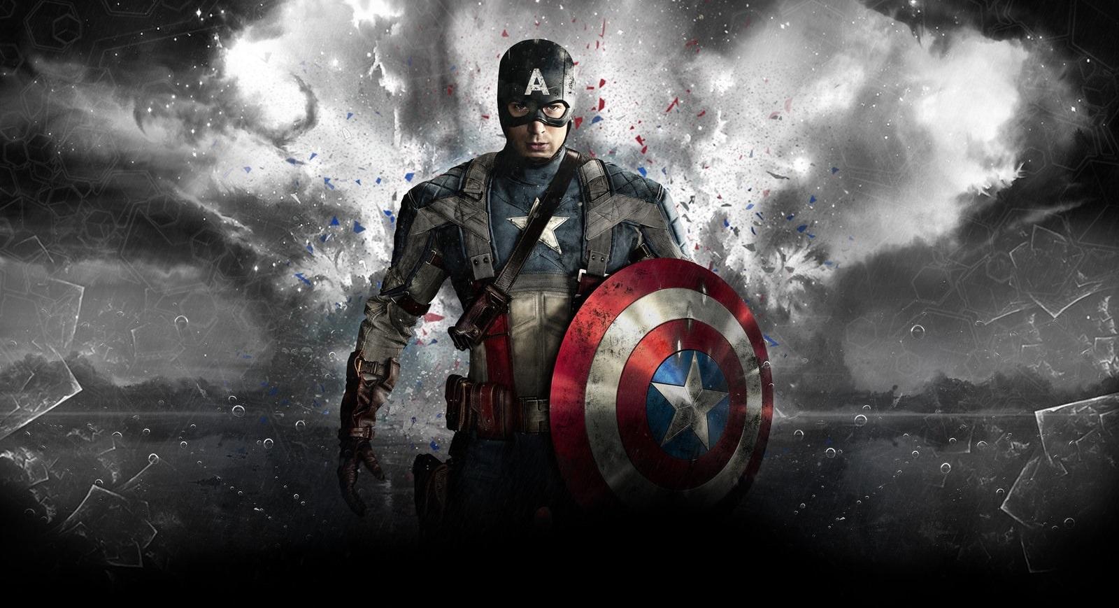 Captain America HD Wallpaper For Desktop 1600x869