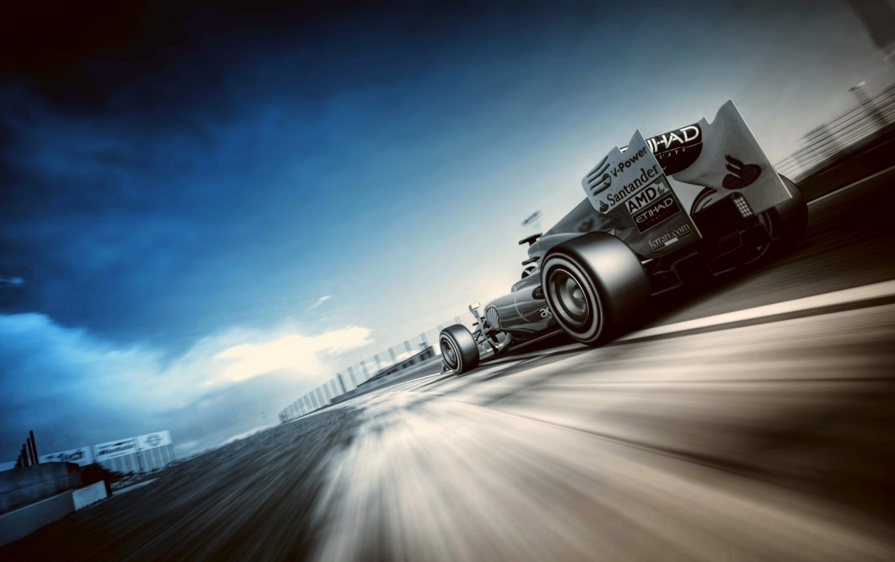 Fernando Alonso Formula 1 Race Wallpapers   Tunisia Racing F1 City 1280x804