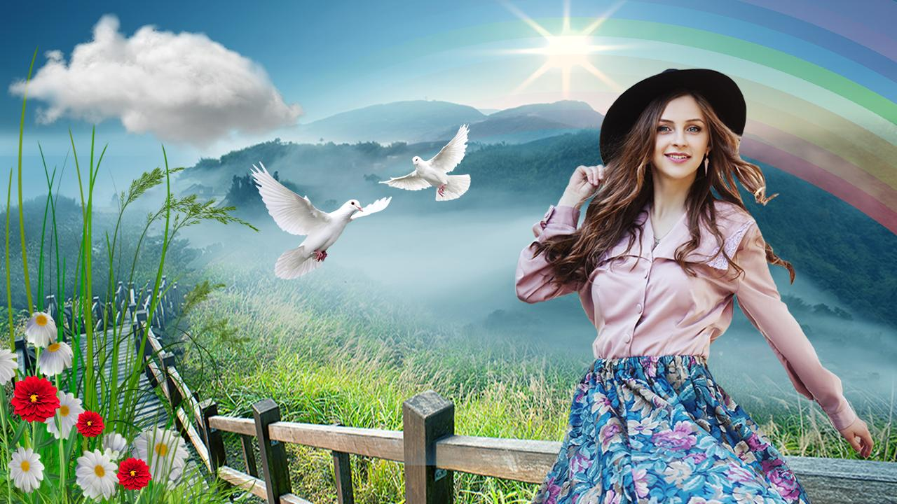 Nature editor Background changer and editor for Android   APK 1280x720