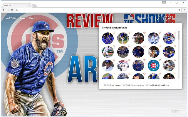MLB Chicago Cubs Wallpaper HD Baseball Themes   Chrome Web 640x400