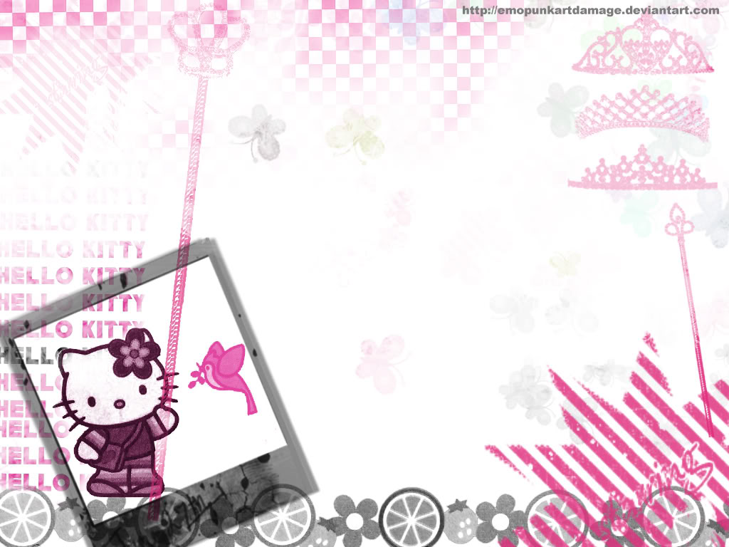 Hello Kitty Wallpapers Pink Hello Kitty Wallpaper Collection 1024x768