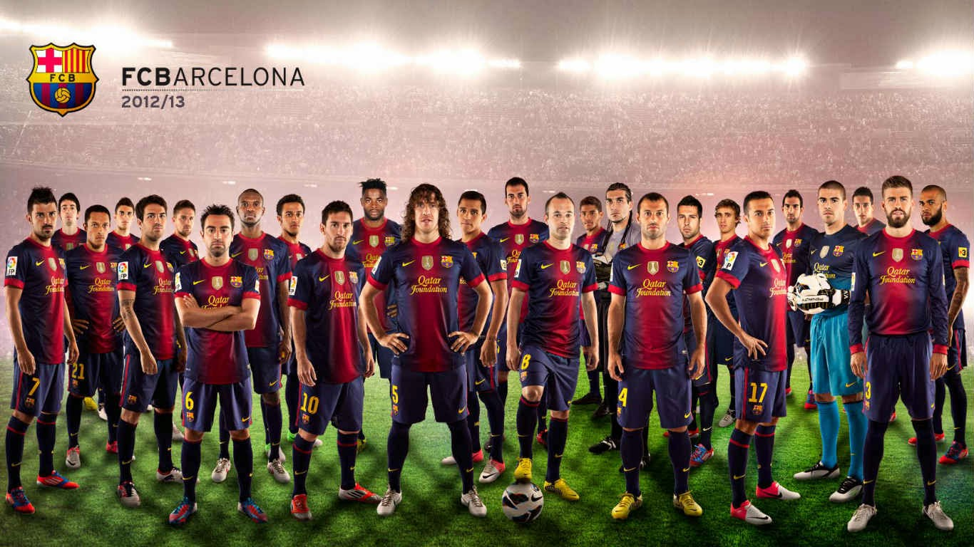 2015 FC Barcelona Wallpapers Hd The Art Mad Wallpapers 1366x768