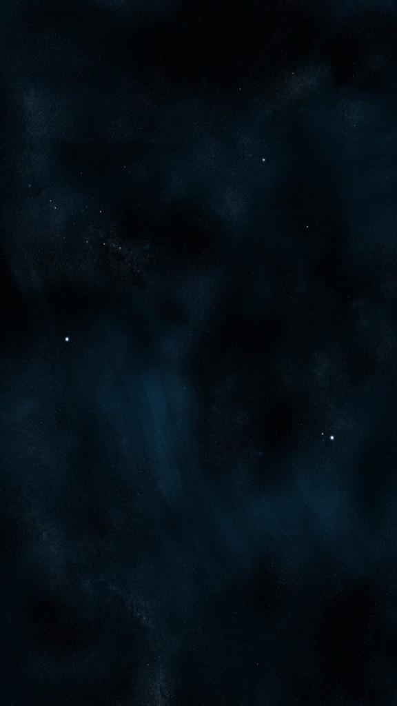 Free download Dark Blue Starry Sky Wallpaper iPhone