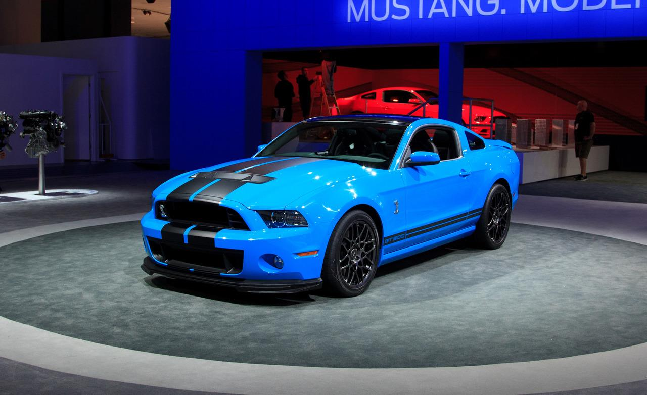 2013 Ford Mustang Shelby GT500 1280x782