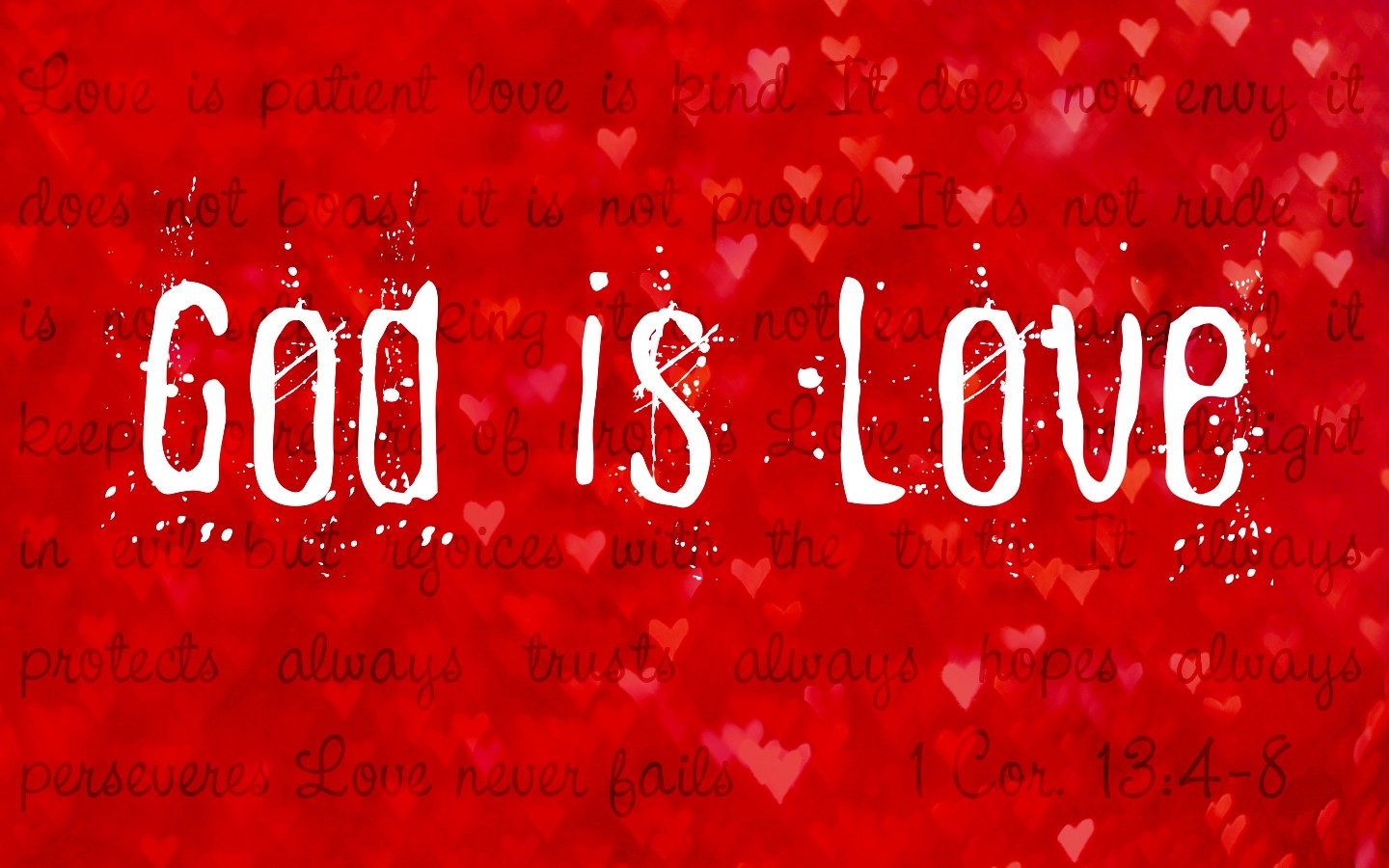 God Is Love wallpaper Background HD for Pc Mobile Phone Download 1440x900