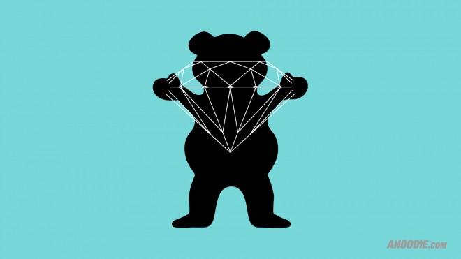Diamond Supply Co Wallpaper Iphone Grizzly x diamond supply co 660x371