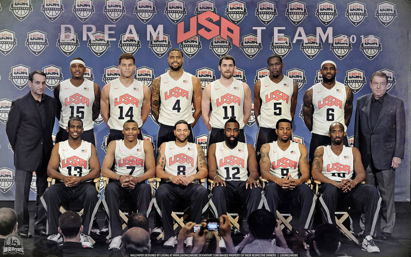 2012 USA Dream Team Wallpaper Big Fan of NBA   Daily Update 800x500
