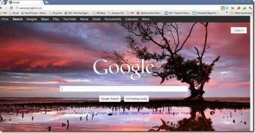 Google Homepage Wallpapers For Free