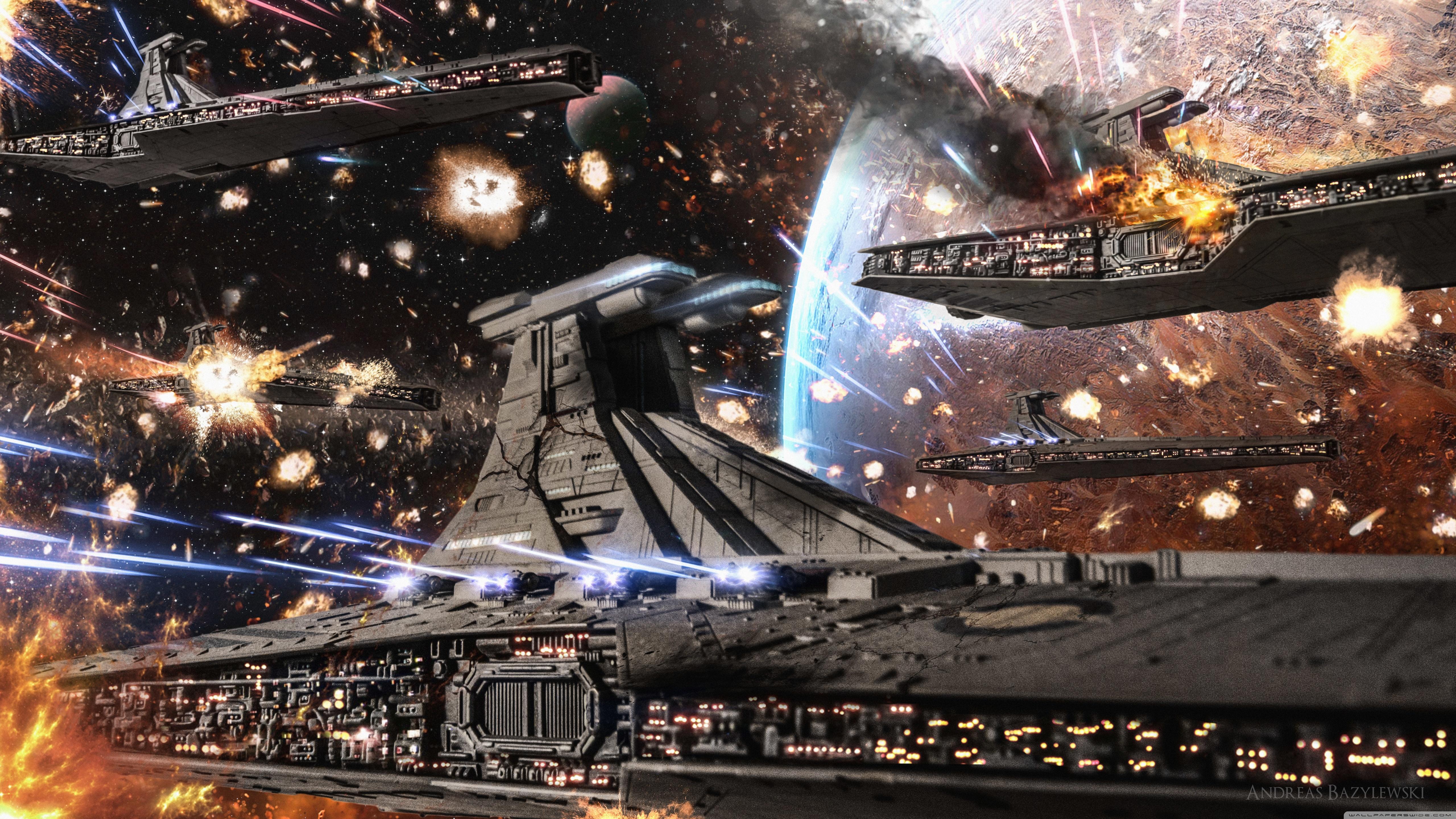 Free Download Star Wars Clone Wars Republic Venator Fleet 4k Hd Desktop 5120x2880 For Your Desktop Mobile Tablet Explore 56 Star Wars Clone Wars Space Background Star Wars Clone