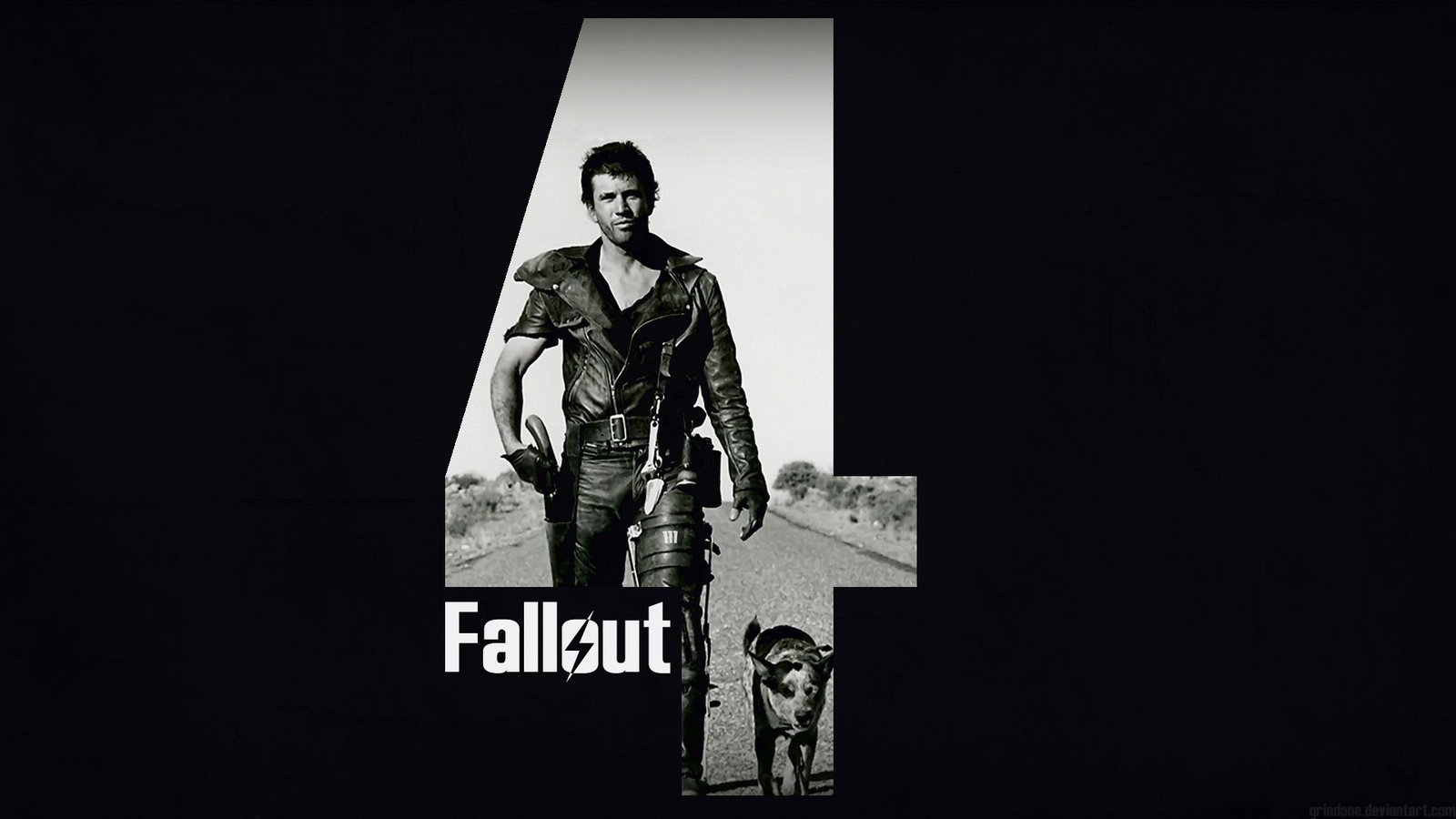 Fallout 4   Mad Max Wallpaper by GrindOne 1600x900