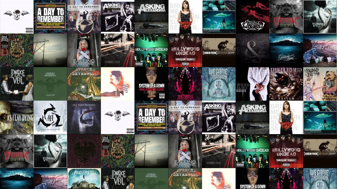 Avenged Sevenfold Nightmare A Day To Remember Homesick 1366x768