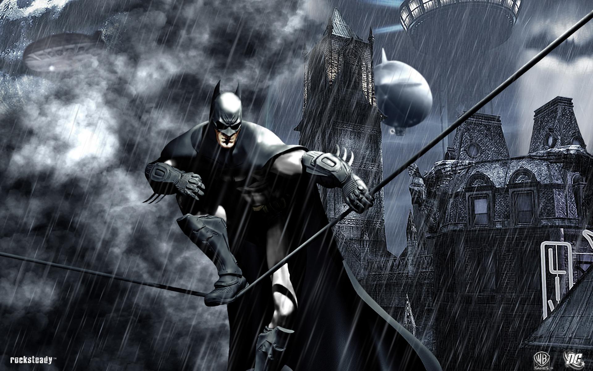 Batman Arkham City Wallpaper HD 1080p Widescreen Desktop 1920x1200