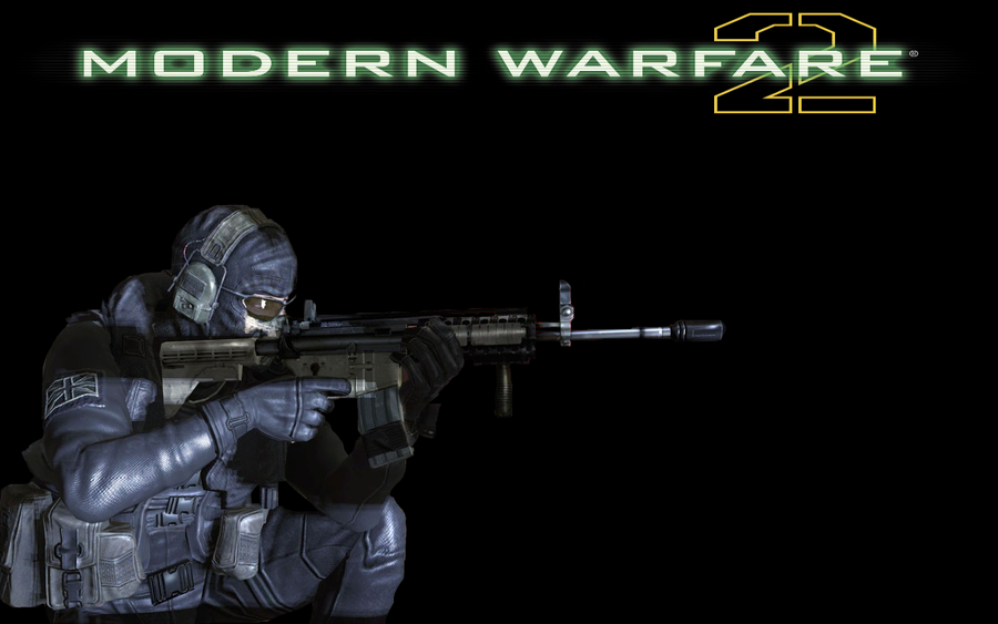 Mw2 Wallpaper Ghost Mw2 wallpaper by