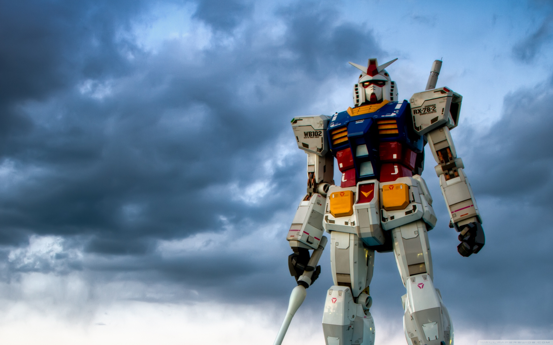 Gundam Odaiba 4K HD Desktop Wallpaper for 4K Ultra HD TV Wide 2880x1800