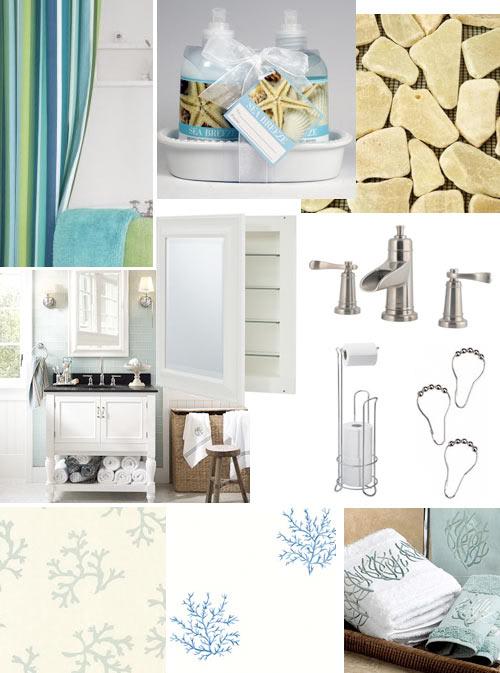 Bathroom Wallpaper Beach Wallpapersafari