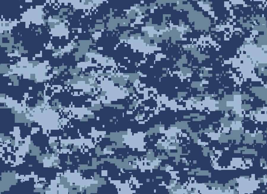 Blue Digital Camo Wallpaper 900x655