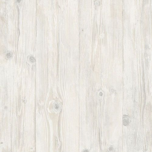 Faux 7 25 Wide White Washed Wood Planks Wallpaper LL29501 EBay 500x500