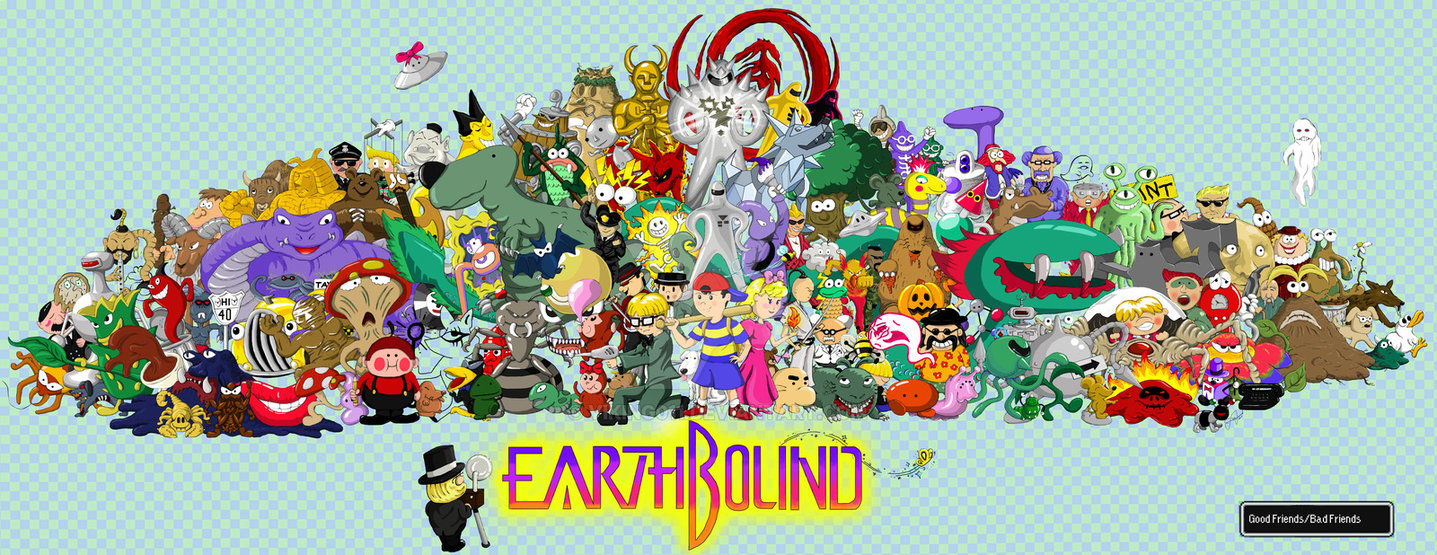 Earthbound Poster by Viking011 1437x555