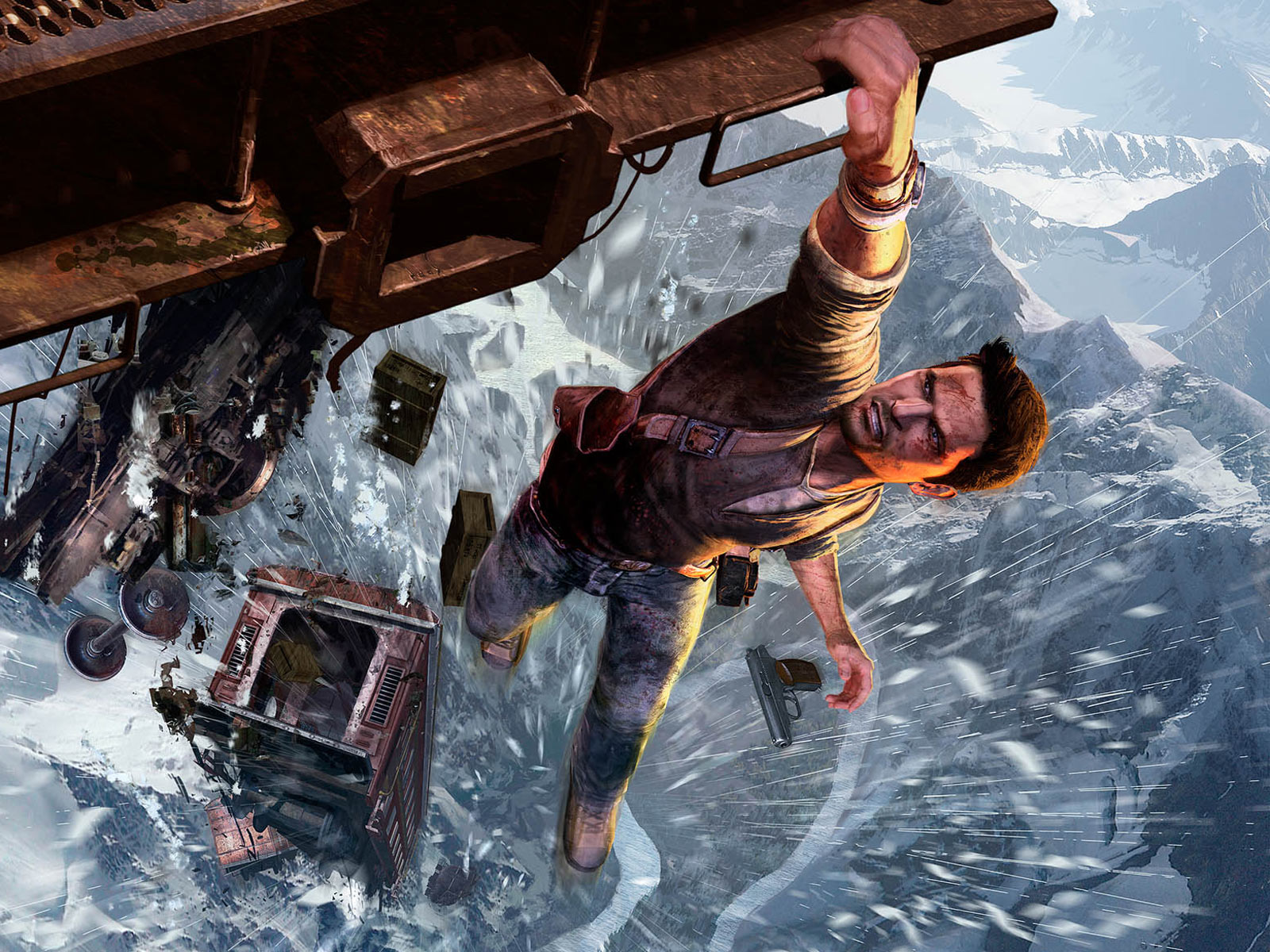 Wallpapers De Jogos Brasil Uncharted 2 Among Thives 1600x1200