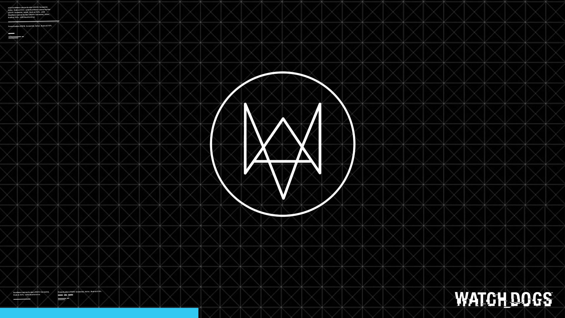watch dogs game login logo hd 1920x1080 1080p wallpaper and 1920x1080