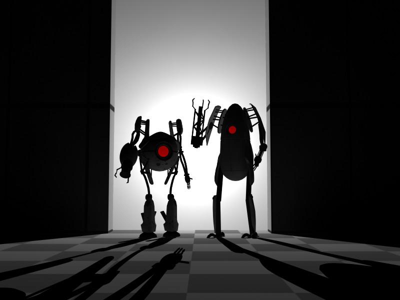 Portal 2 Robot wallpaper   Sharenatorcom 800x600
